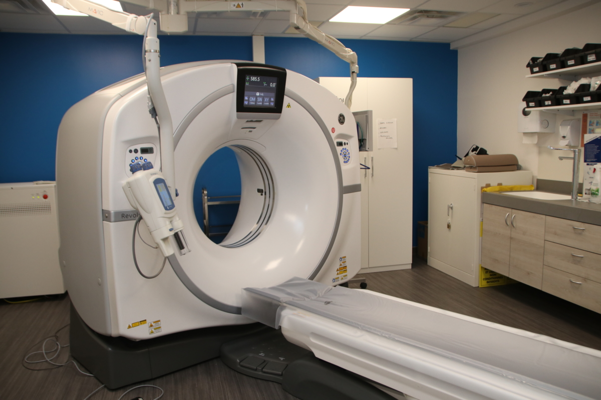Scanner clinique BLB