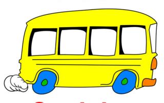 Bus scolaire jaune