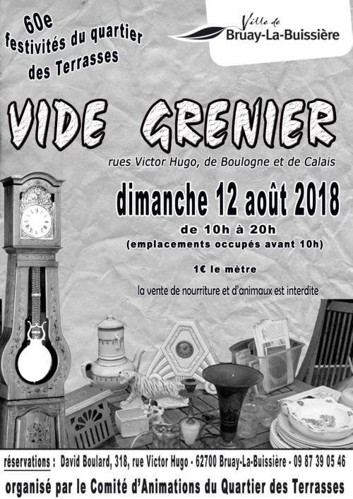 marché aux puces Terrasses_aout 2018