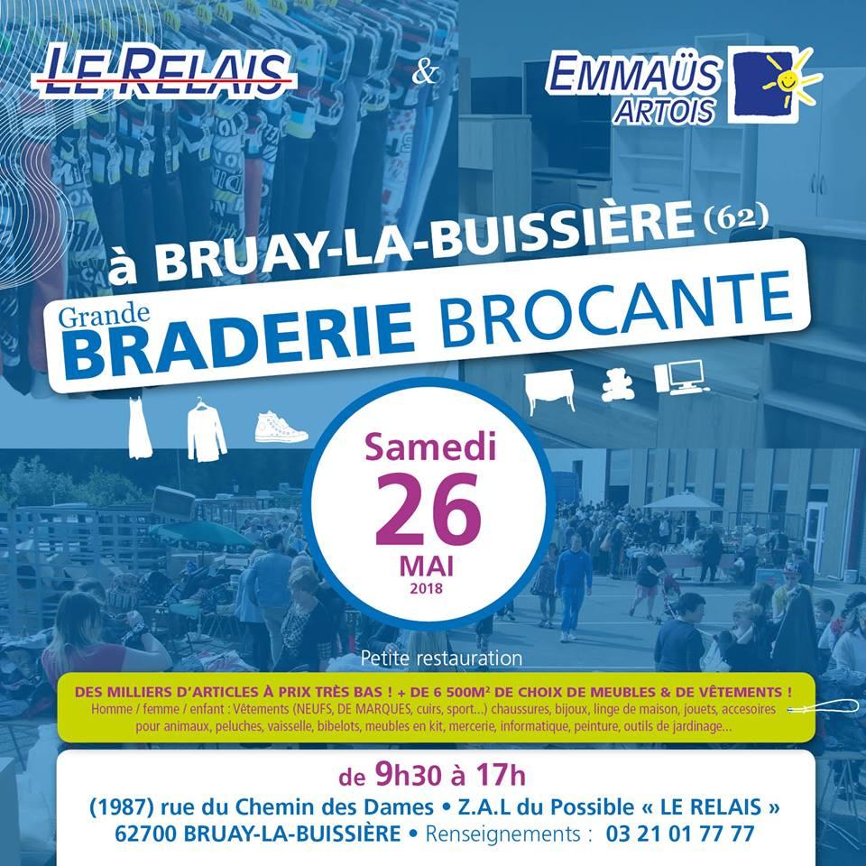 Braderie Le Relais Emmaüs