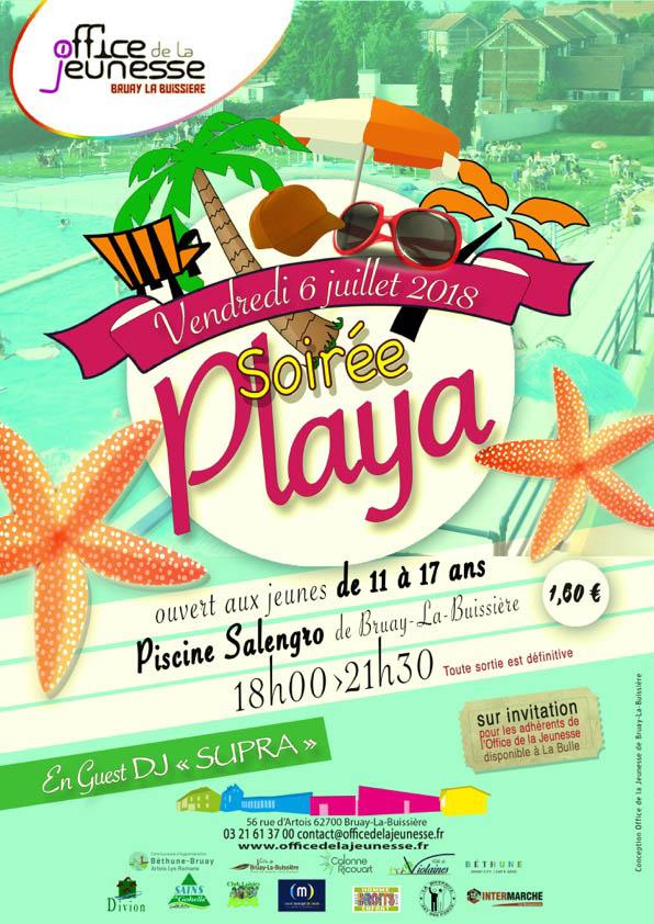 Soirée Playa Office de la jeunesse