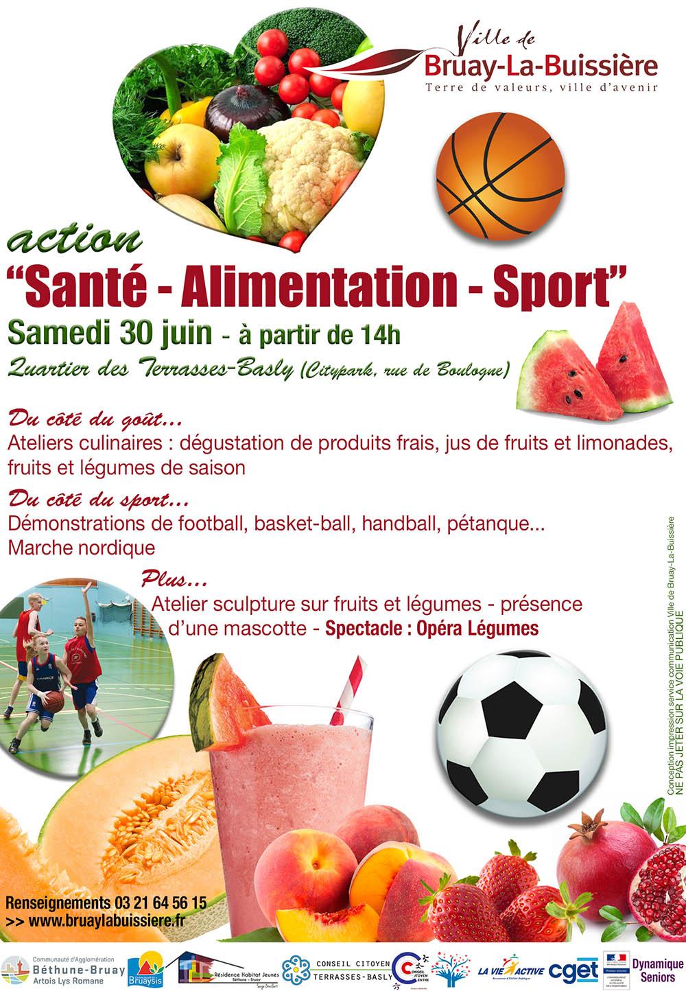 Santé alimentation sport