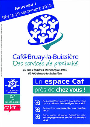 Affiche CAF de Bruay