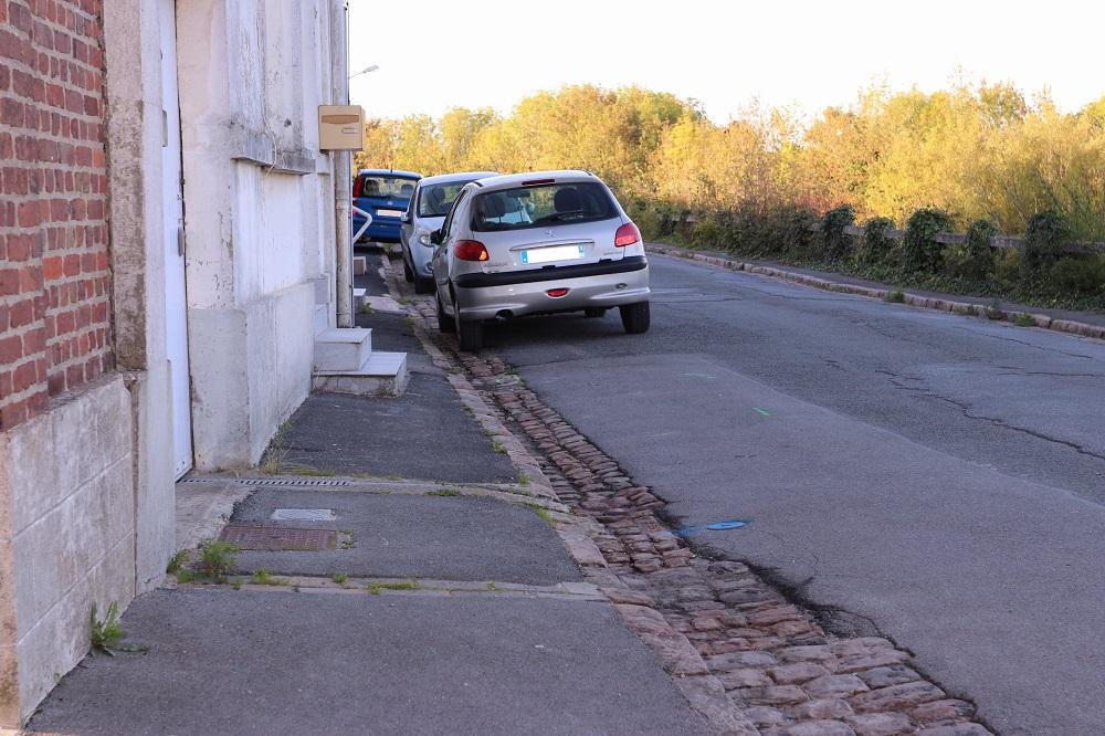 Travaux rue Caudron BLB