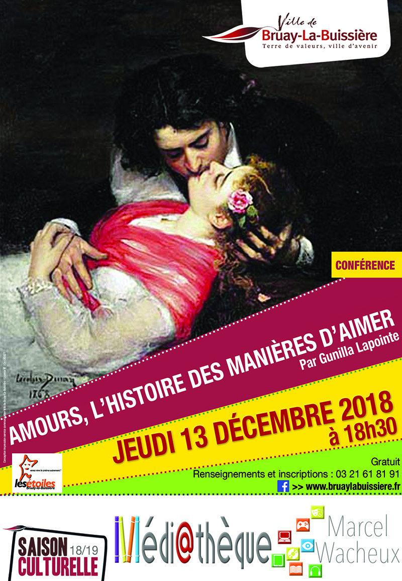 Affiche Conference amour