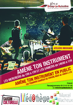 Affiche Amène ton instrument