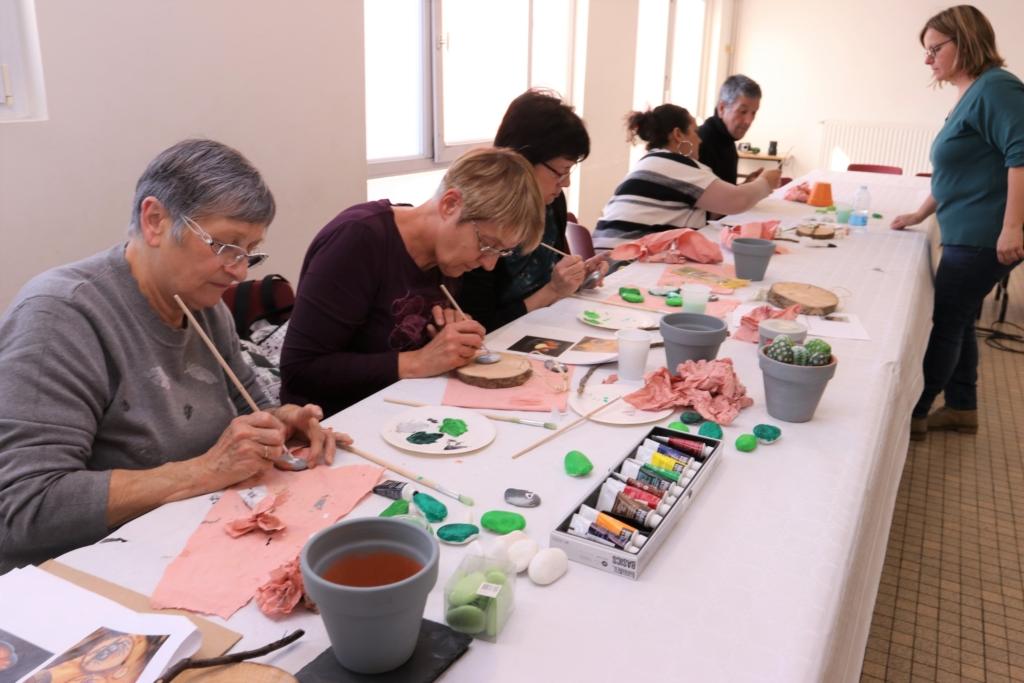 Atelier seniors Bruay-La-Buissière