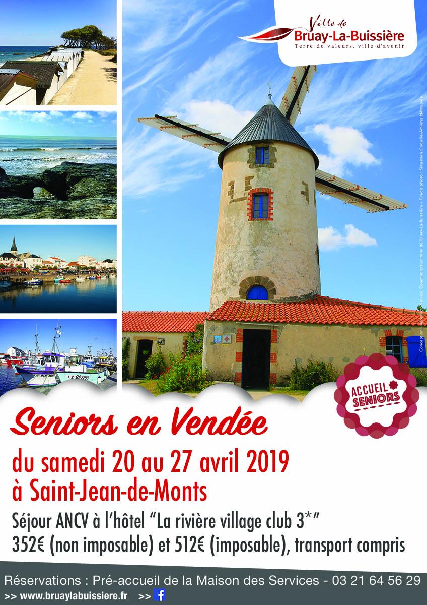 Affiche seniors en Vendée