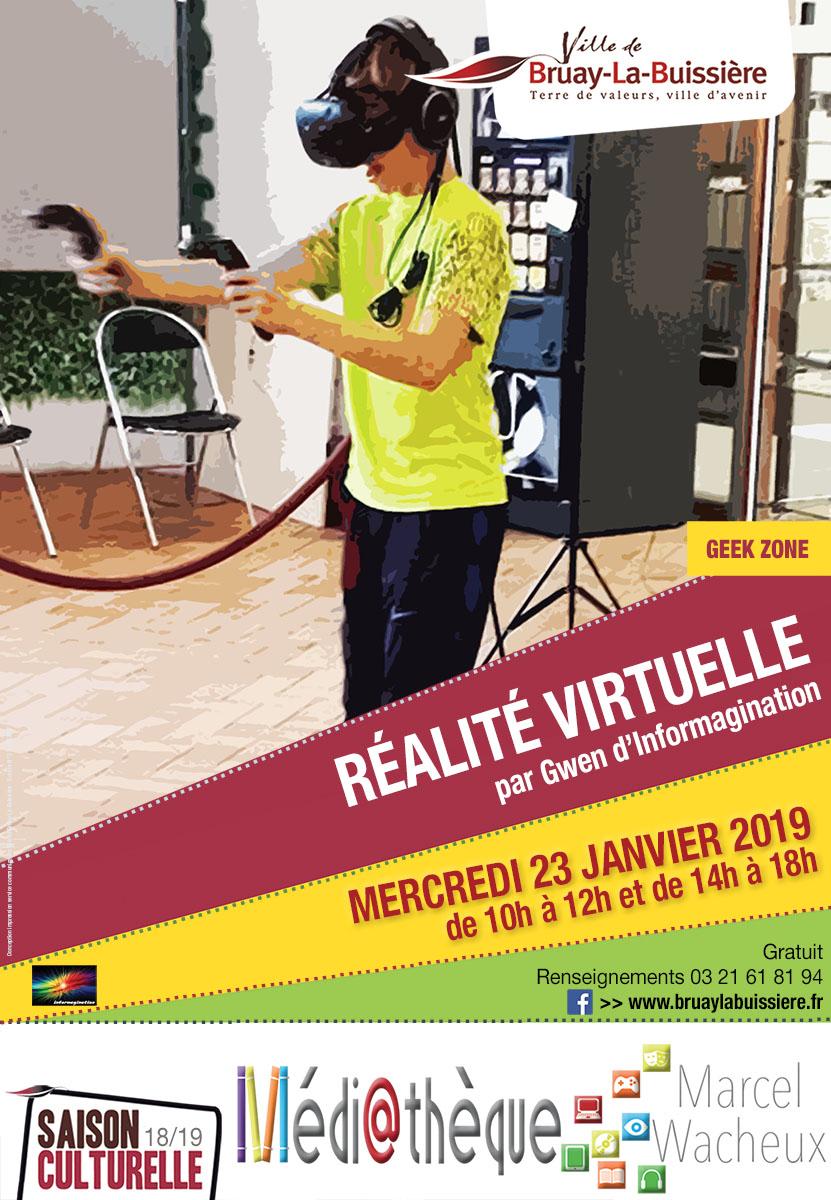 Affiche casque virtuel