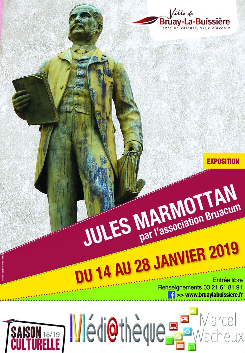 Affiche exposition Jules Marmottan