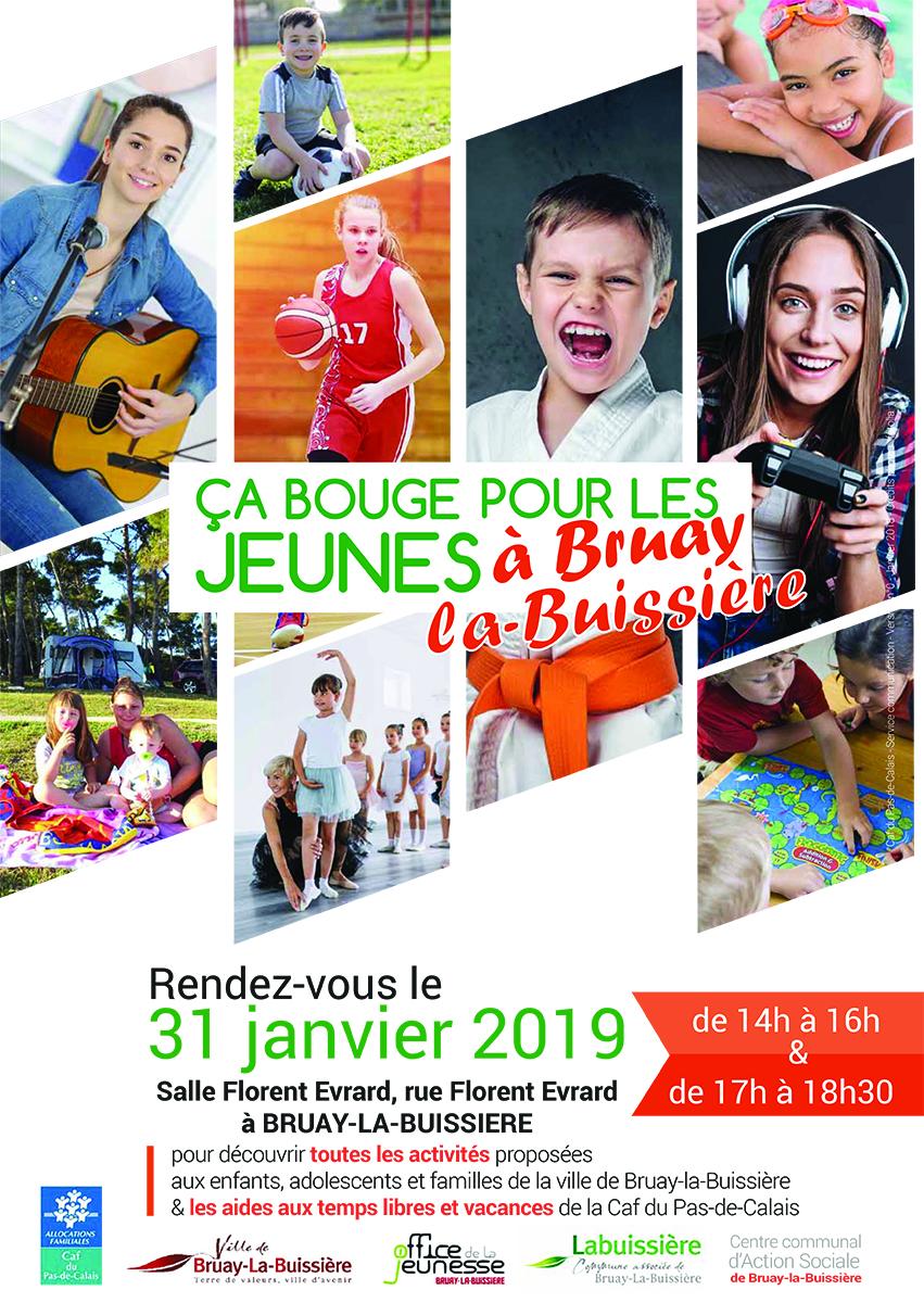 Affiche de la CAF pour les jeunes