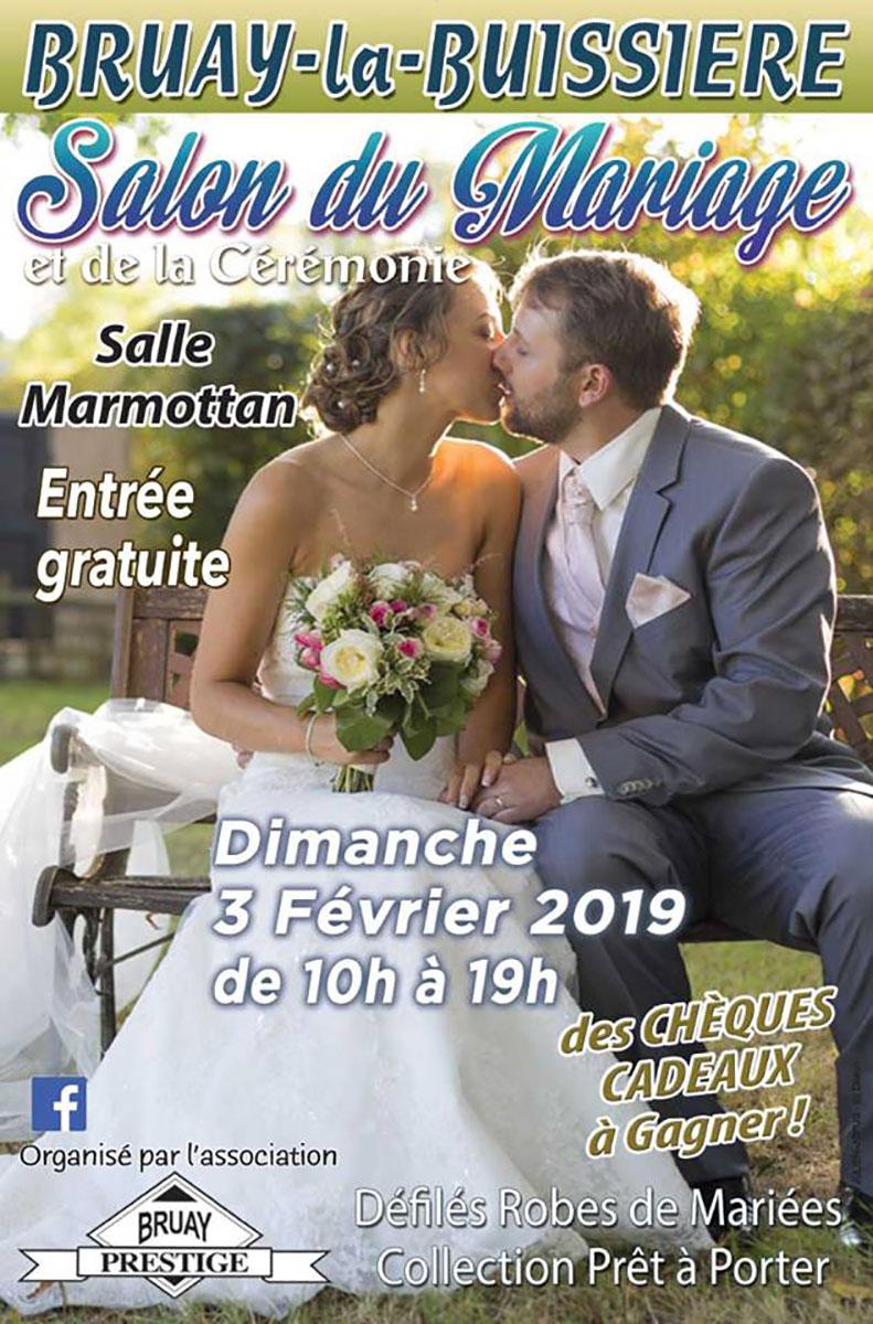 Affiche salon du mariage 2019