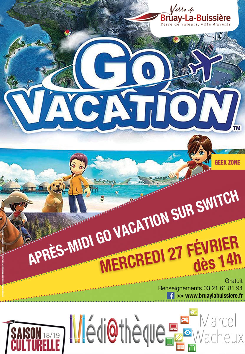 Affiche Go vacation