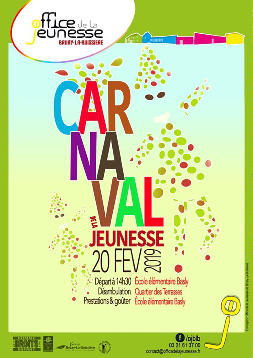 Affiche Carnaval recto OJ 2019