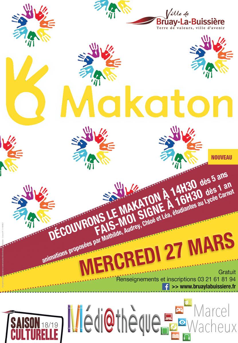 Affiche Makaton