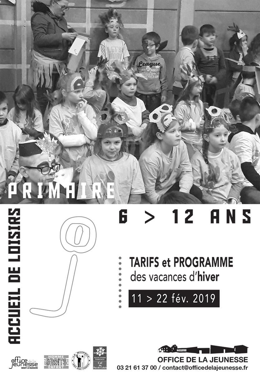 Affiche primaire OJ fev 2019