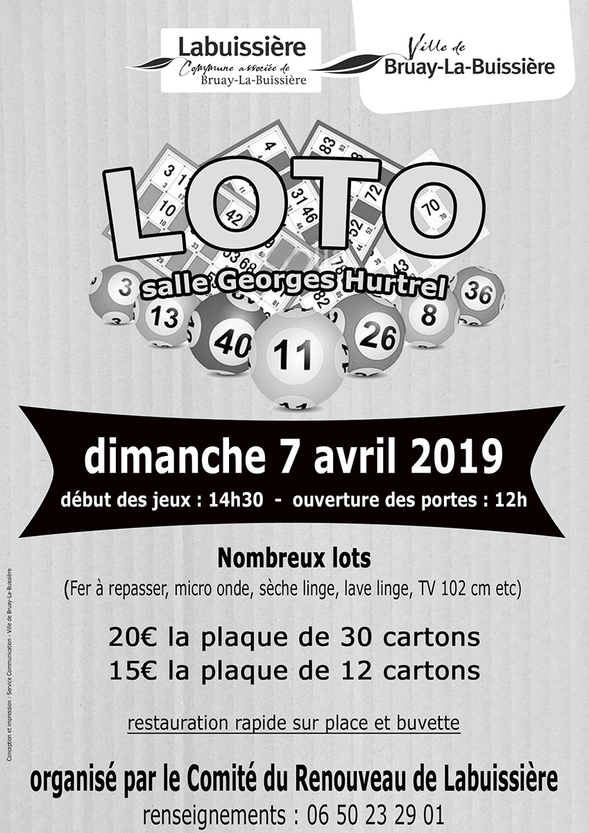 2019-Loto-comité du renouveau de labuissière