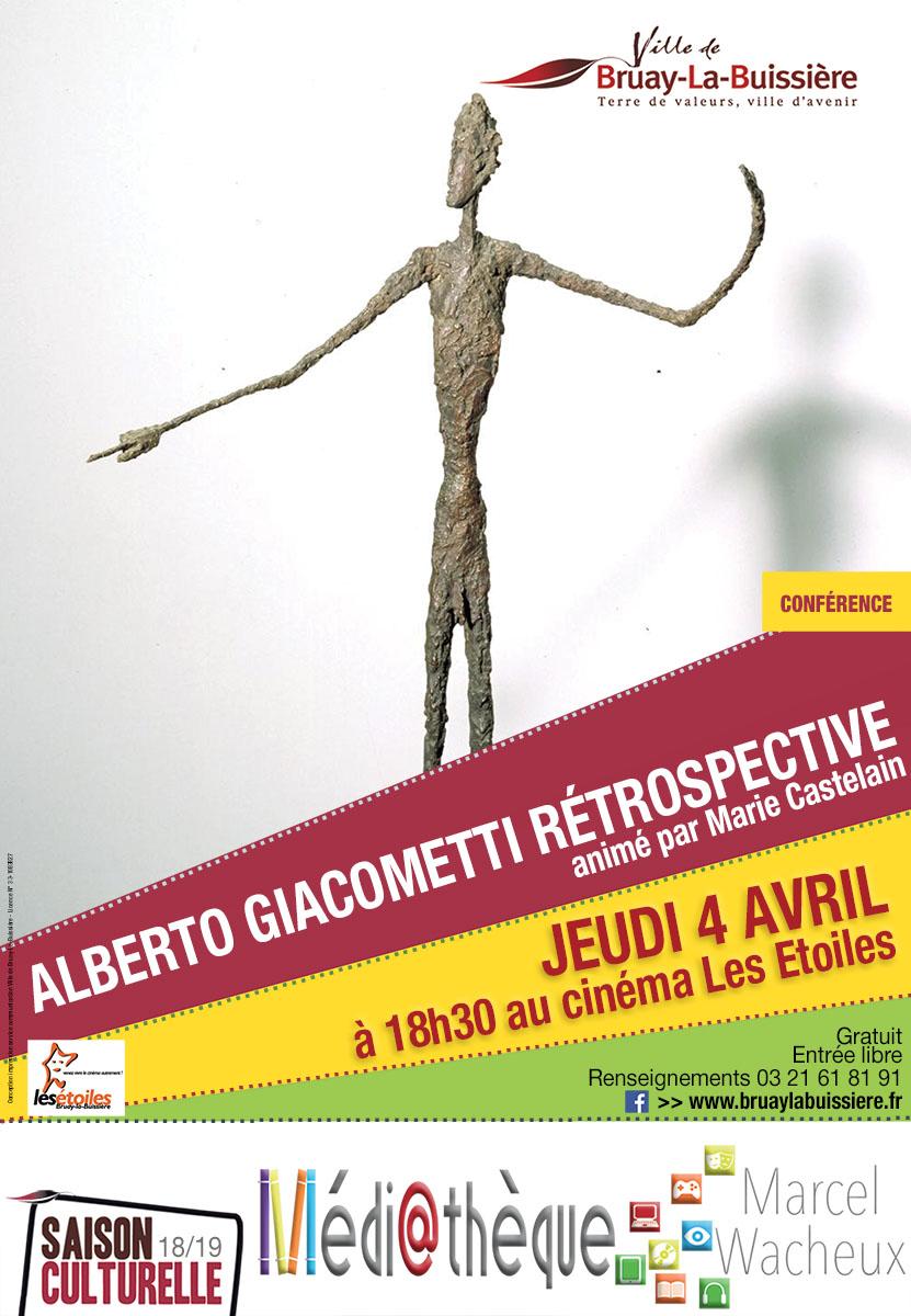 Conférence Alberto Giacometti