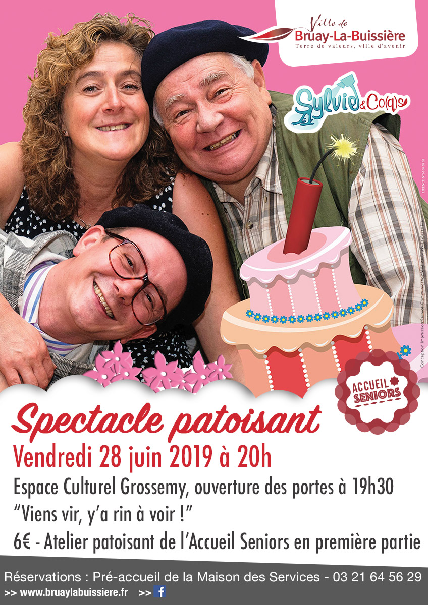 Seniors spectacle patoisant