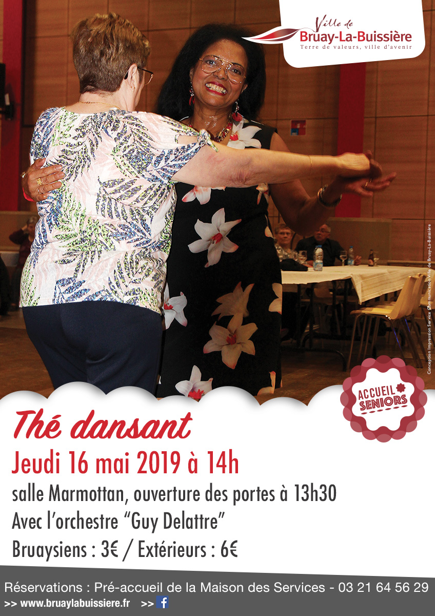 2019-Seniors-A3 Thé dansant 16 mai