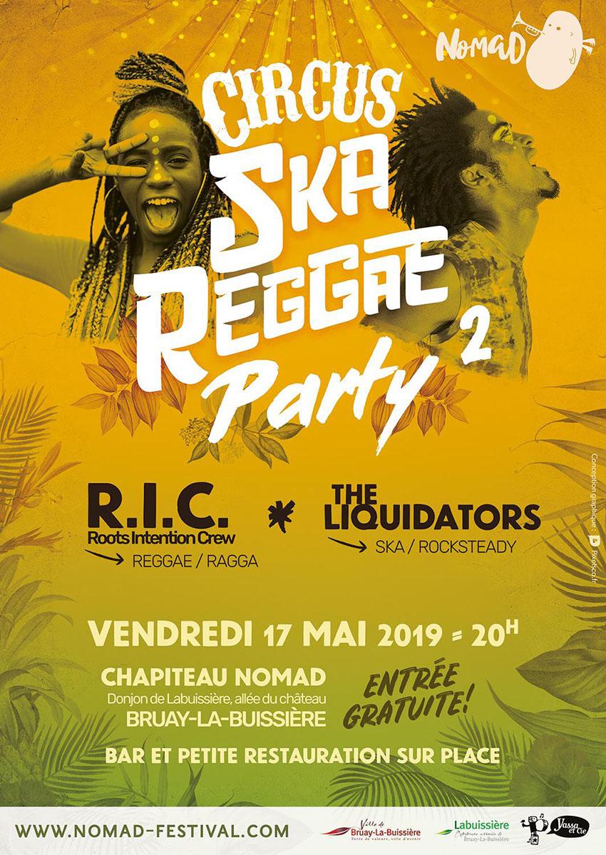 Affiche ska-reggae