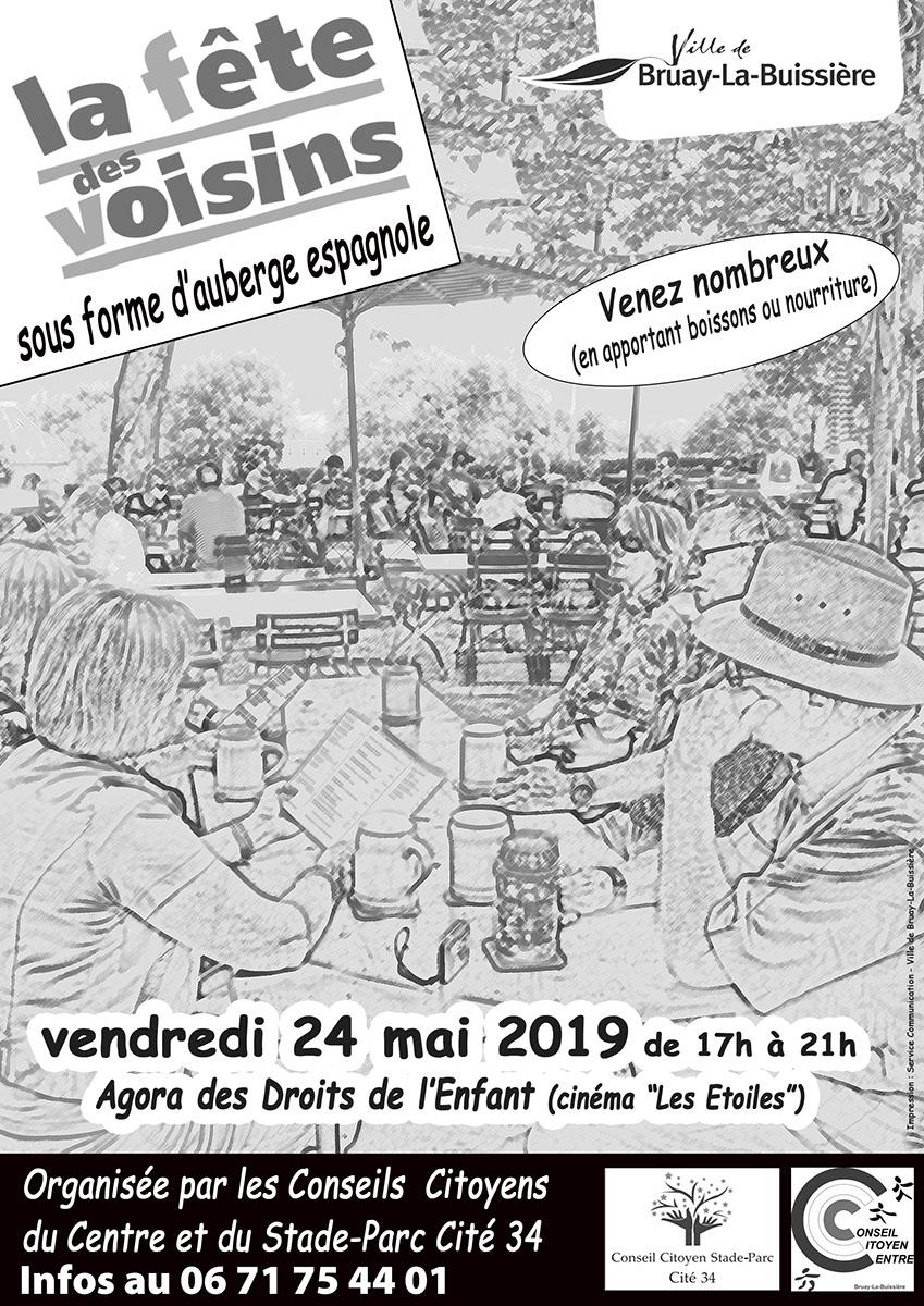 2019-fête des voisins- conseil citoyen du centre