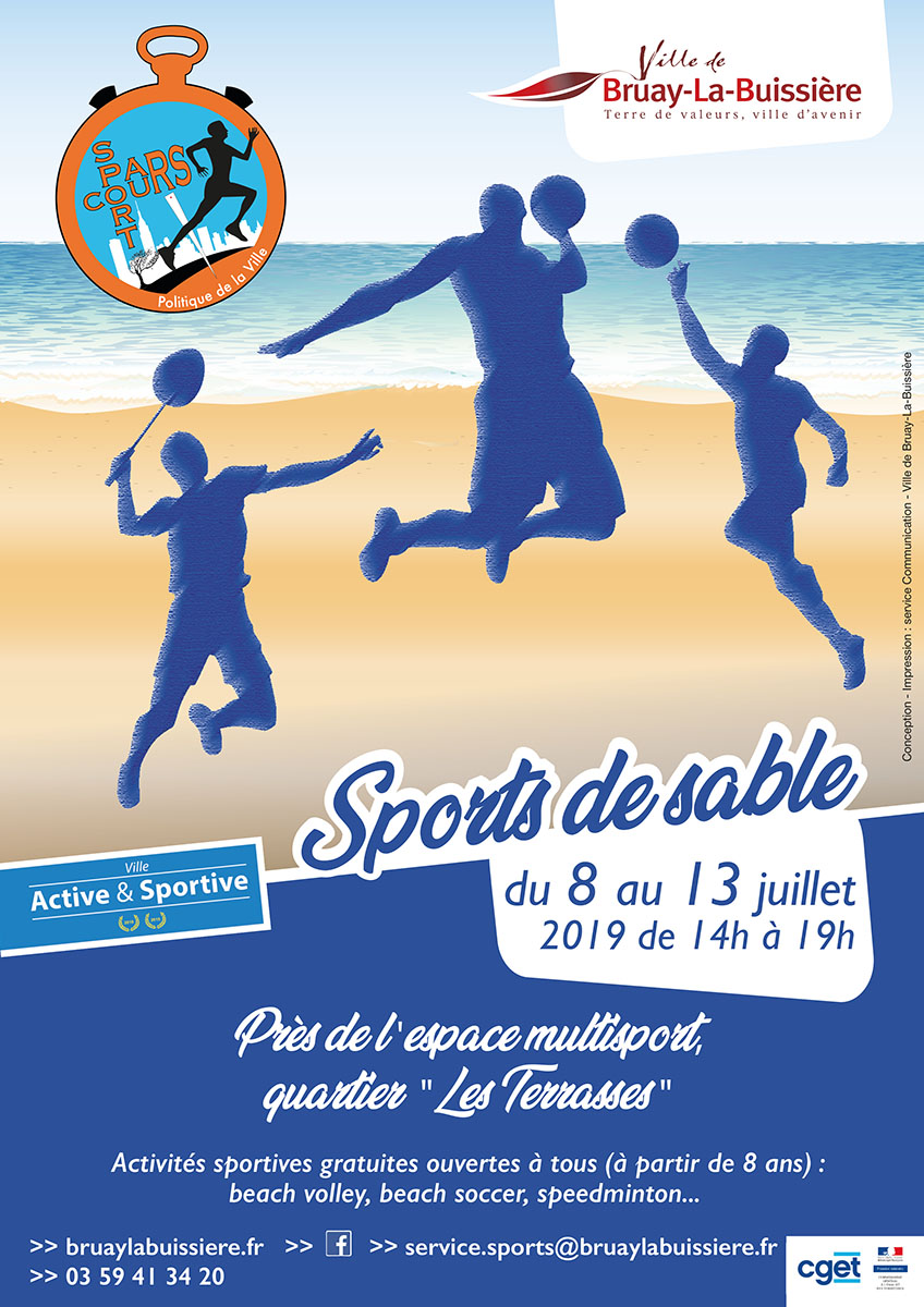 Affiche Pars Cours Sport