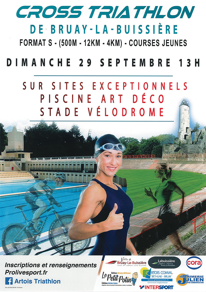 cross triathlon affiche 2019