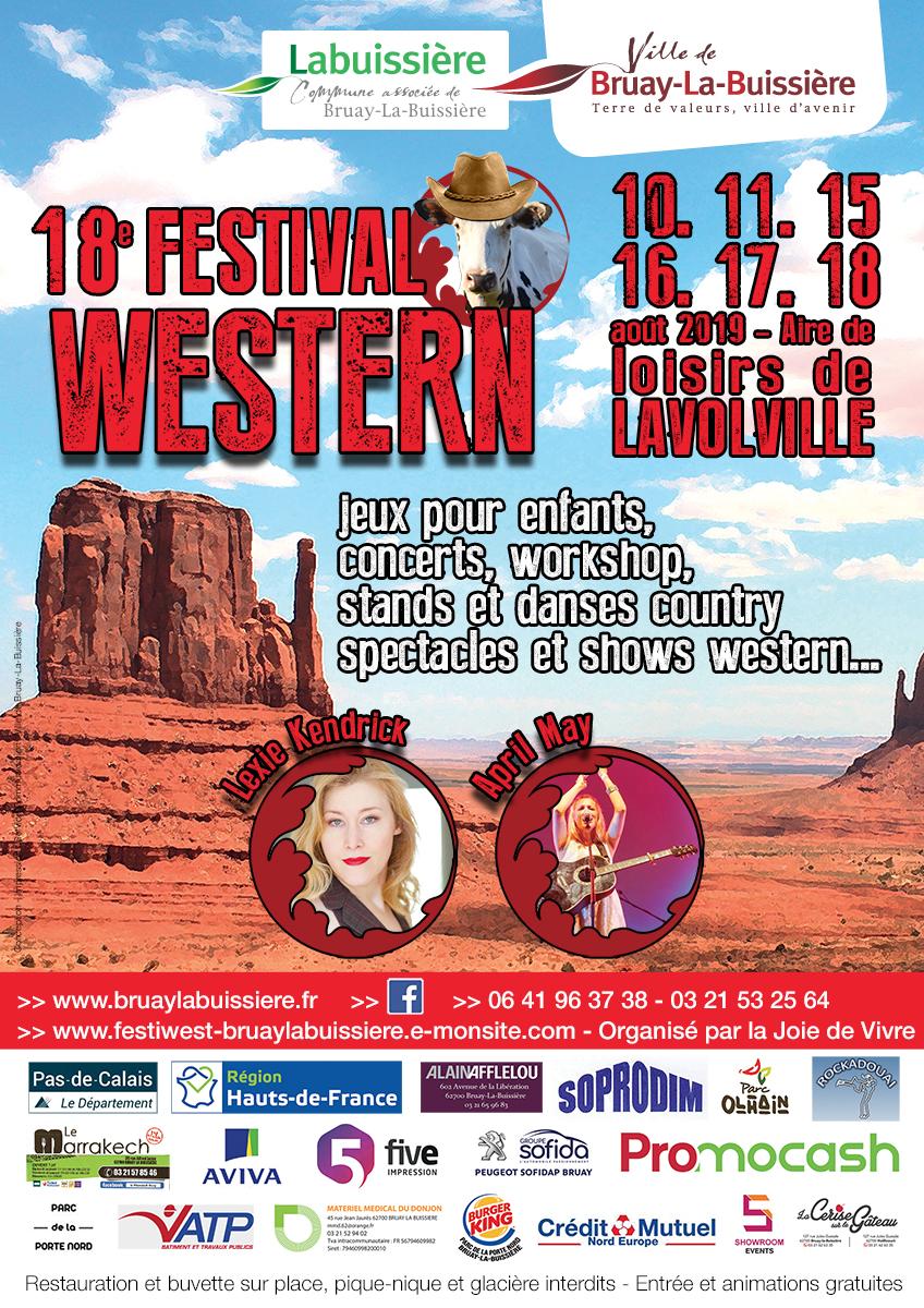 Affiche Festival Western 2019