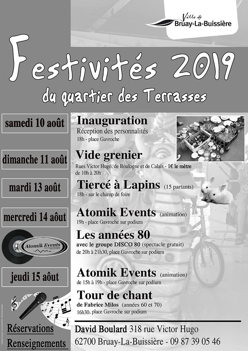 2019- festivités du quartier des terrasses