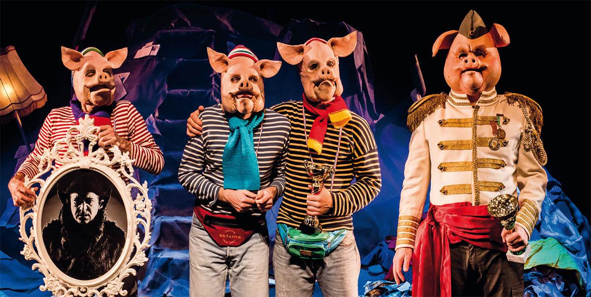 Les 3 Cochonnes Et Le Dernier Des Loups
