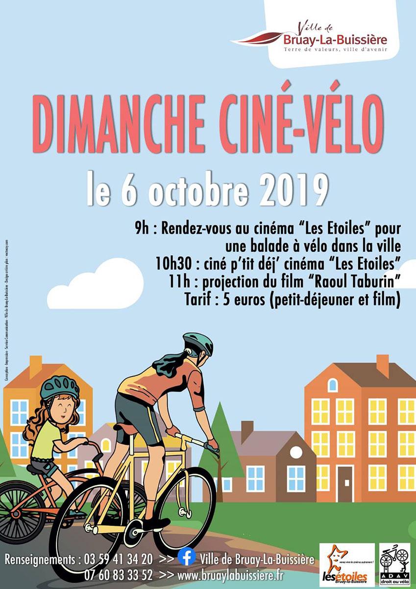 Dimanche ciné-vélo