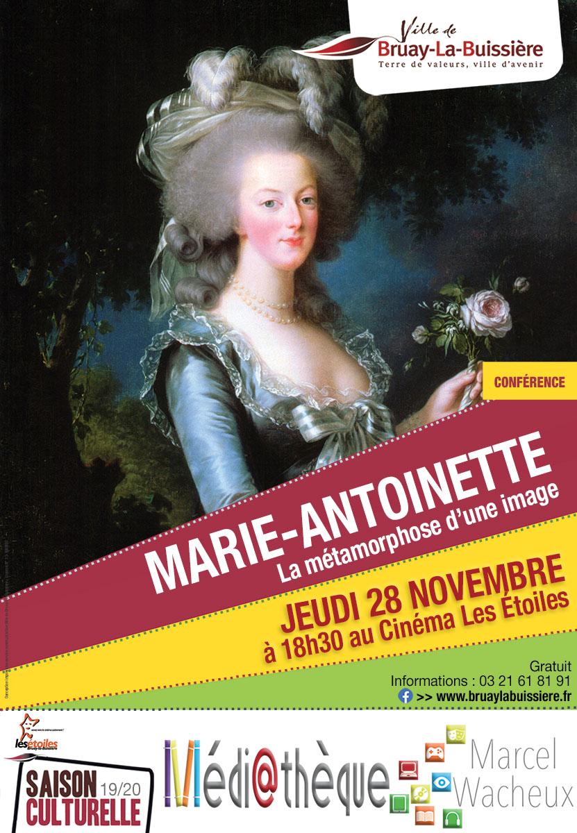 CONFÉRENCE MARIE ANTOINETTE