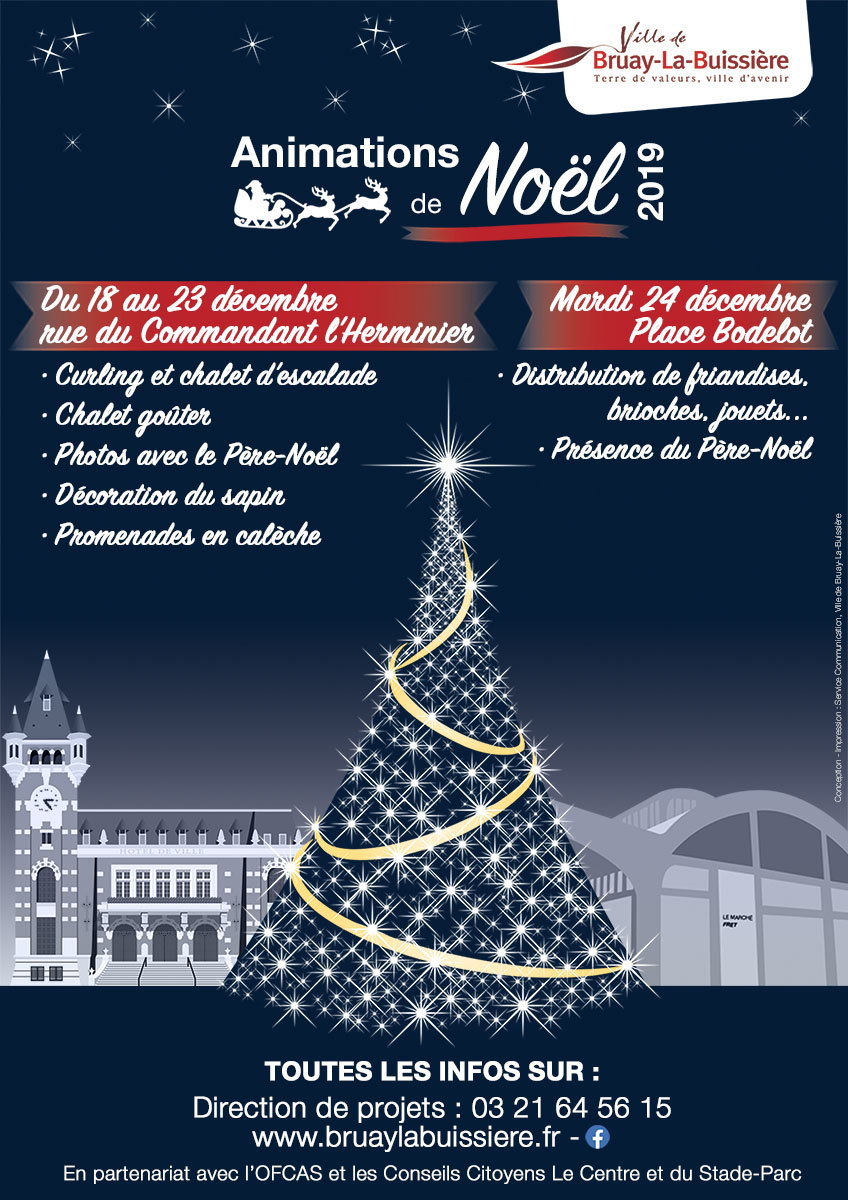 Affiche BLB Noël 2019