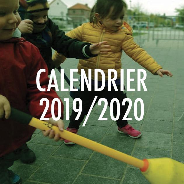 Calendrier OJ 19-20