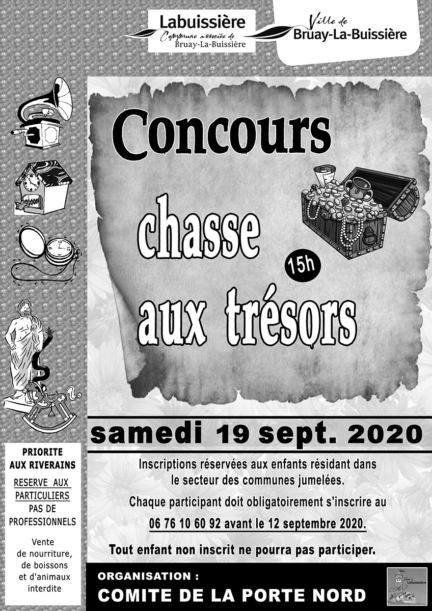 2019-chasse aux trésors-comité de la Porte Nord