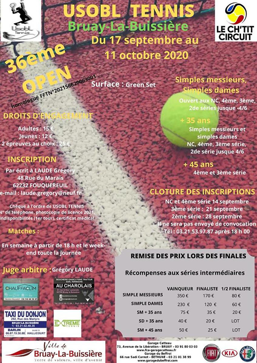 36eme Open Tennis