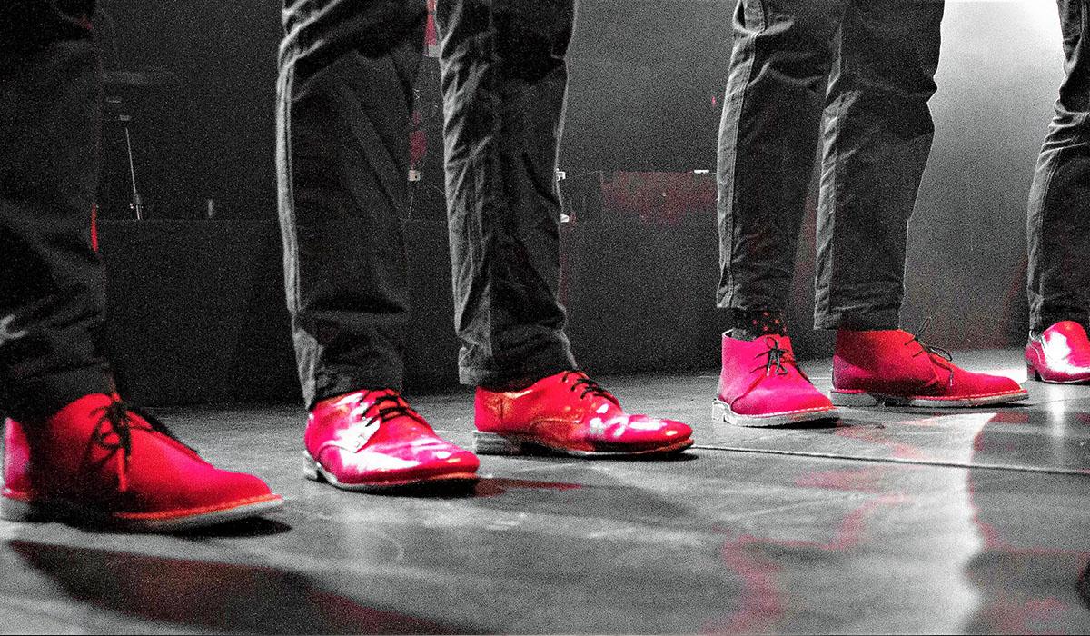 Mes souliers sont rouges