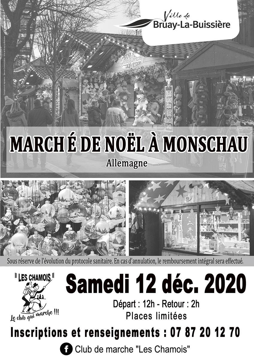 marché de noel à Monschau