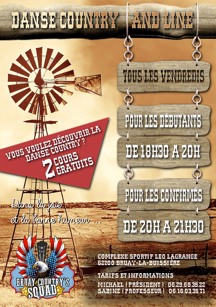 Affiche Bruay Country's Squad