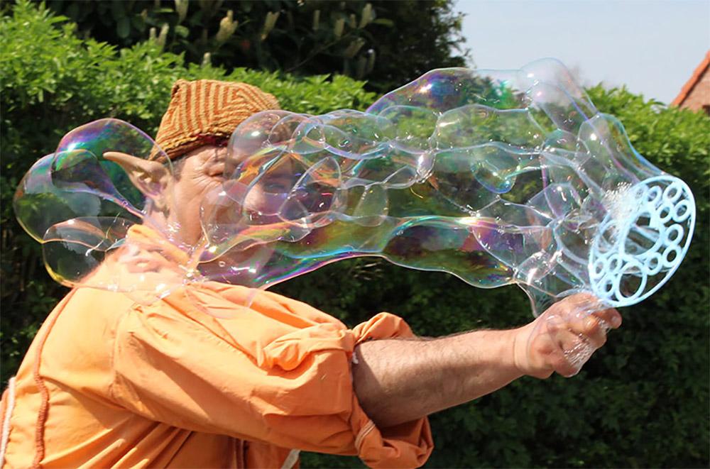 bulle parc en scène