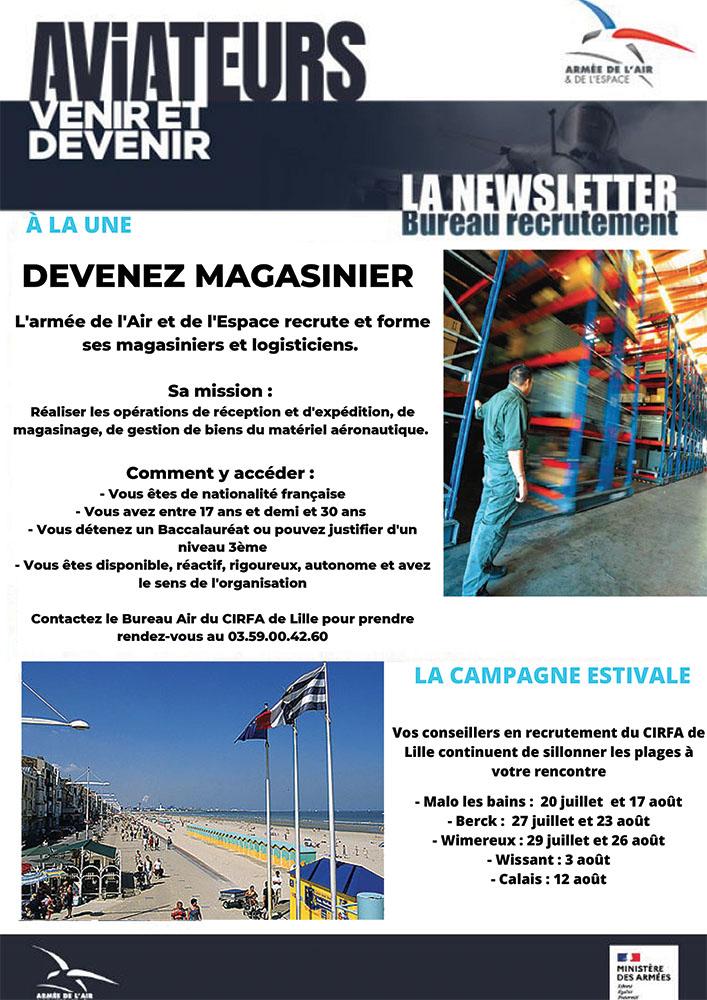 Newsletter Armée de l'air Août 2021