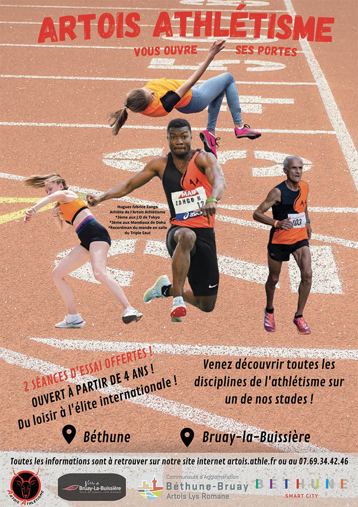 Portes ouvertes Artois Athlétisme