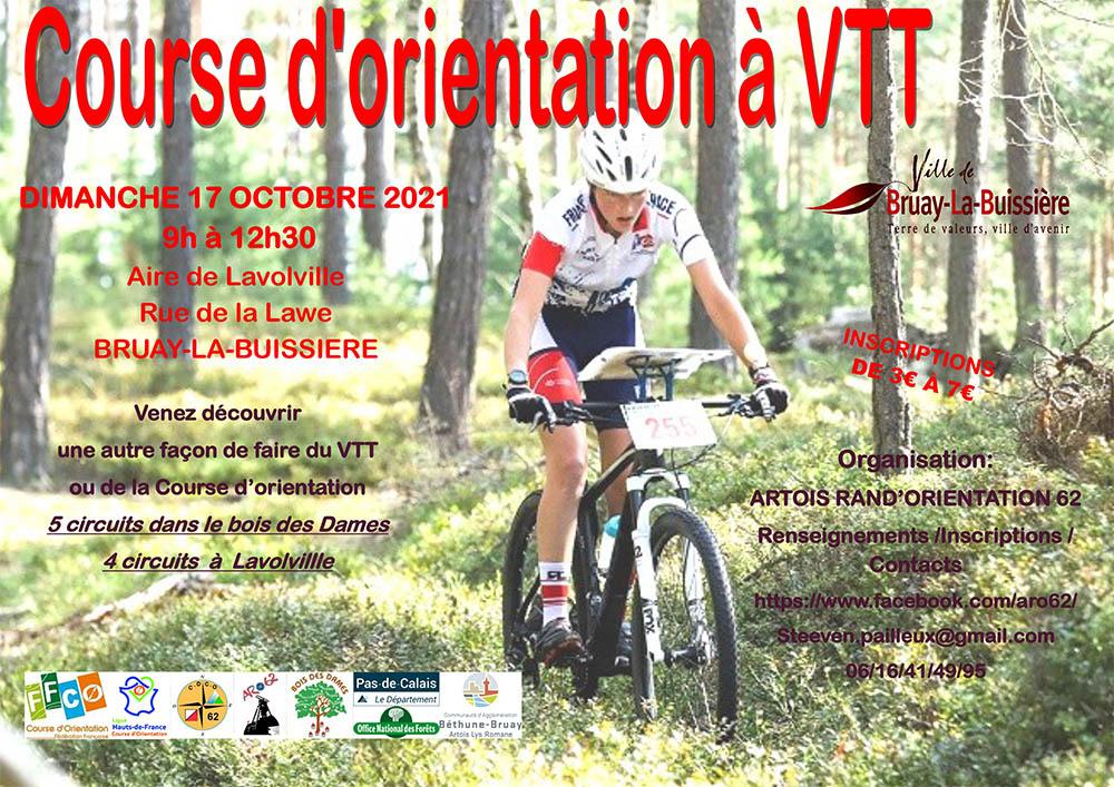 affiche CO VTT